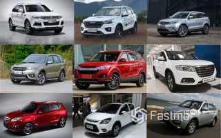 Лучший китайский автомобиль 2018