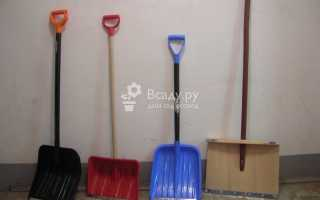 Лучшая лопата для уборки снега