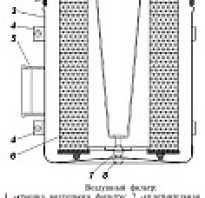 Корпус воздушного фильтра уаз