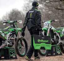 Центральная подставка для мотоцикла