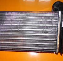 Радиатор печки на поло седан