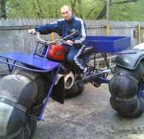Трицикл болотоход своими руками