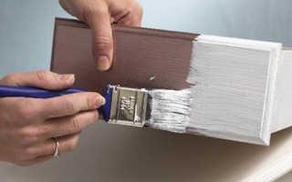 Можно ли красить по лаку краской