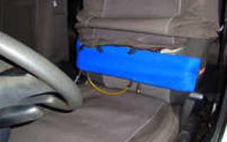 Опора для поясницы в автомобиль