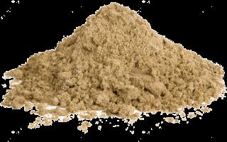 Песок для абразивной обработки