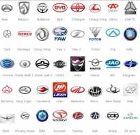 Марки авто эмблемы и названия