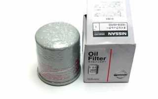 Масляный фильтр almera classic
