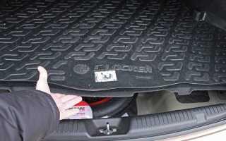 Обшивка крышки багажника солярис