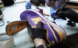 Как покрасить резиновую подошву