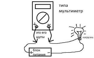 Как тестером проверить силу тока