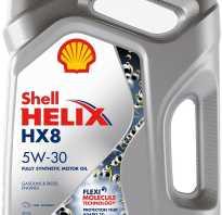 Шелл hx8 5w30 характеристики