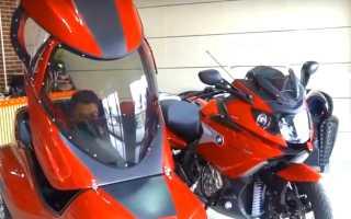 Мотоцикл бмв с коляской новый