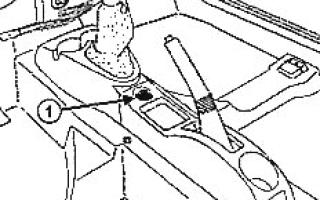 Центральная консоль рено логан