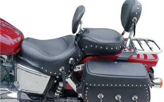 Спинка на мотоцикл своими руками