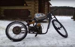 Как сделать мотоцикл из бензопилы