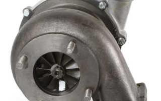 Как установить турбину на камаз