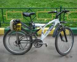 Как сделать велосипед с моторчиком