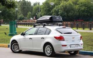 Как установить багажник на крышу