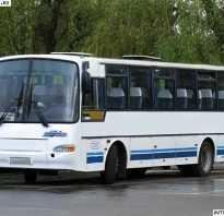 Тест драйв автобуса кавз