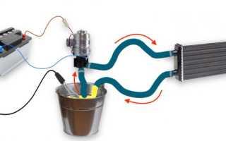 Как промыть радиатор печки кротом