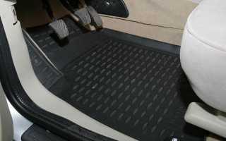 Тканевые коврики для автомобиля
