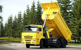 Как поднять кузов на камазе 65115