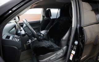 Чехлы из меха на сиденья автомобиля