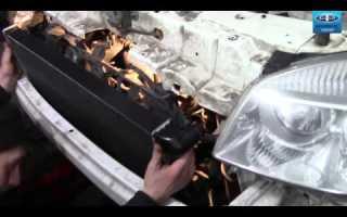 Как снять бампер на фиат дукато
