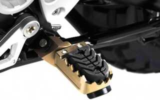 Подножки водителя для мотоцикла